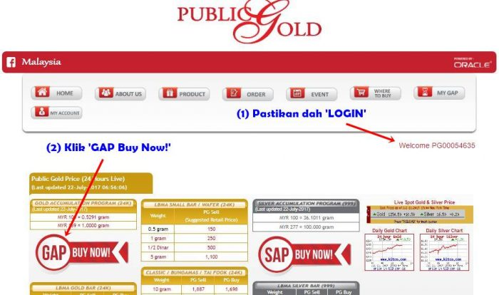 Login- GAP Buy Now