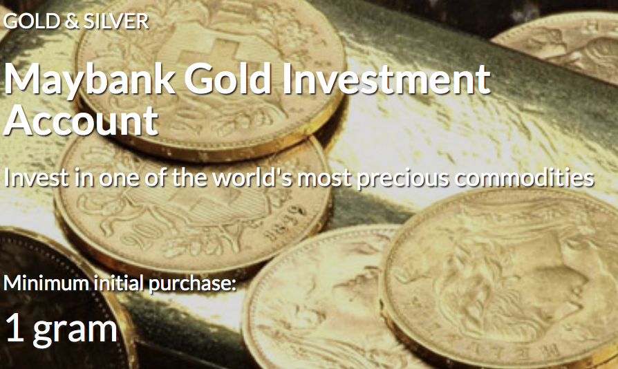 Gold Investment Account (GIA)